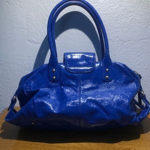 Botkier Bags - Botkier blue cobalt  pat leather